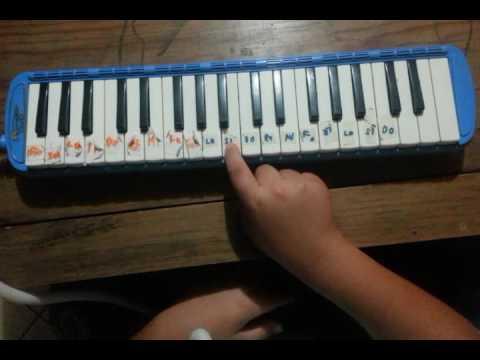 Himno a la alegría en melodica