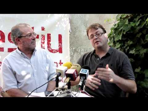 Presentació Festival Cua d'estiu 2013 a Fondarella