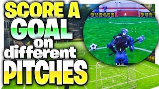 """Score A Goal On Different Pitches"" - All 7 Soccer Field Locations In Fortnite!  (All Soccer Fields) - YouTube"