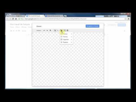 Création de fichiers avec Google Drive (3/7)