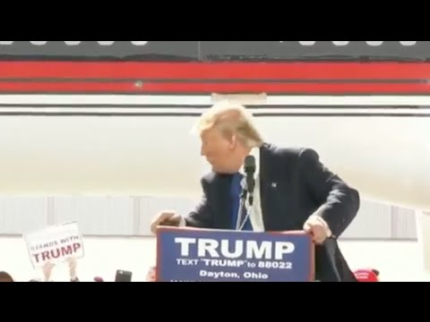 فيديو.. ترامب مخلوع من صوت ''الله أكبر''..شاهد ما وقع له