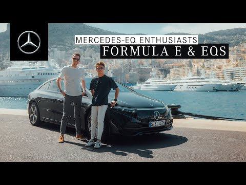 Mercedes-EQ Enthusiasts – With the EQS on the Circuit de Monaco
