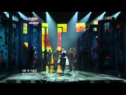110107 TVXQ東方神起 Why 왜(Keep Your Head Down) & How Can I -Live Music Bank COMEBACK