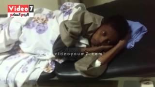 """بالفيديو.. """"صراصير"""" داخل قسم الباطنة بمستشفى أسوان الجامعى"""