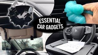 BEST CAR ACCESSORIES/GADGETS #3 - ESSENTIAL Driving Life Hacks!