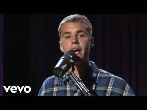 Justin Bieber - Cold Water in the Live Lounge