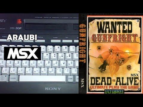 Gunfright (Ultimate, 1985) MSX [219] Walkthrough Comentado