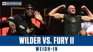 Deontay Wilder vs. Tyson Fury II Weigh-Ins   CBS Sports HQ