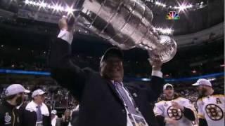 Bruins-Canucks Game 7 Cup Finals Highlights+Celebration NBC 6/15/11 1080p HD