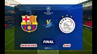 Barcelona vs Ajax   UEFA Champions League FINAL   Penalty Shootout   PES 2019