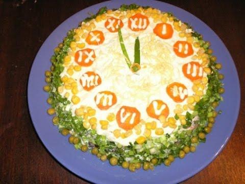 Как украсить салаты на новый год 2013 фото