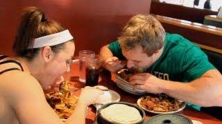 Big Eats At Mongolian Grill with IFBB Fitness Pro Jodi Boam | Furious Pete