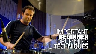 5 Beginner Drumming Techniques You Need To Know - Drum Lesson