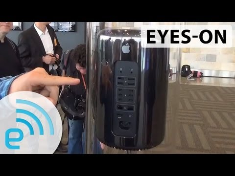 Apple's Next-Generation Mac Pro Prototype eyes-on | Engadget at WWDC 2013