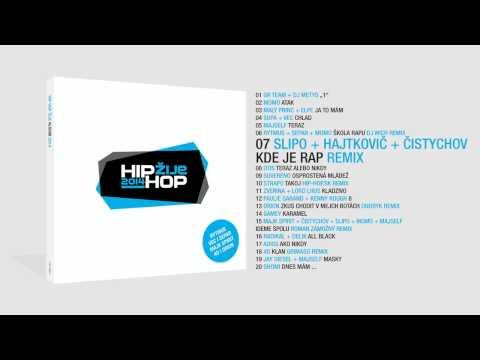 Slipo & Hajtkovič - Kde je rap? ft. Čistychov |REMIX|