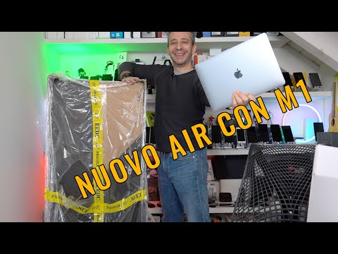 UNBOXING MacBook AIR M1 e MONITOR GIGANT …