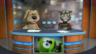Talking Tom And Ben Sing Gummy Bear!!!!!!!!!!!!!!!!