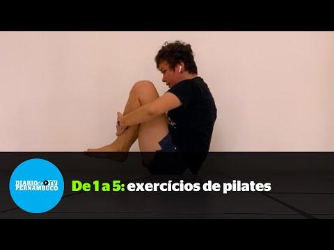 De 1 a 5: Pratique Pilates em casa