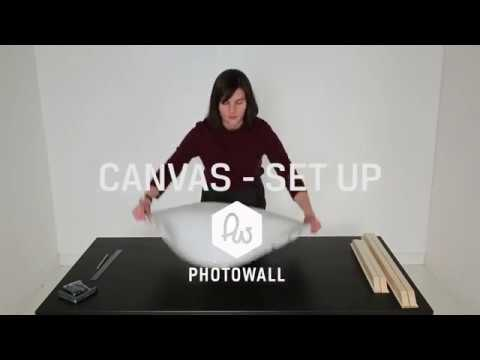 Canvas - set up video - Photowall
