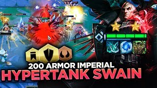 IMPERIAL HYPERSTACKED SWAIN AND DRAVEN HARD CARRY! | Teamfight Tactics
