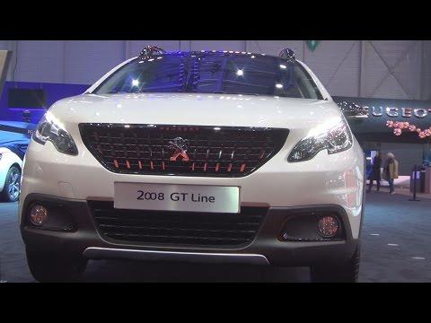 Peugeot 2008 GT Line Allure PureTech 130 EAT6 Stop&Start (2016) Exterior and Interior in 3D