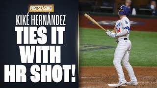 Dodgers' Enrique Hernández ties NLCS Game 1 up with DEEP solo shot!