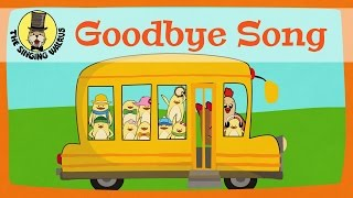 Goodbye Song for kids | The Singing Walrus