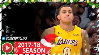 Kyle Kuzma Full Highlights vs Warriors (2017.12.18) - 25 Pts, 6 Reb off the Bench