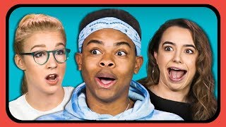 YOUTUBERS REACT TO TOP GIFS OF 2017 - YouTube