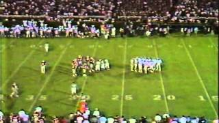 1985 Alabama at Georgia football - crazy final minute