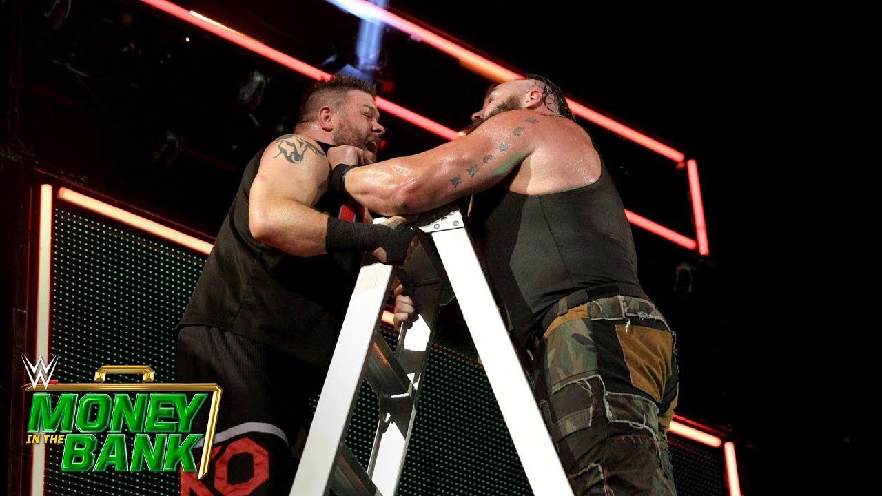 WWE MITB: Men's Money In The Bank Ladder Match