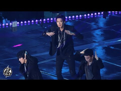 171202 [4K]엑소 찬열 'Intro + Forever + The Eve + Ko Ko Bop' EXO CHAN YEOL @Melon Music Awards By 천둥