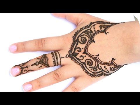 Henna Tutorial Auf Die Ganze Hand Sanny Kaur Videomoviles Com