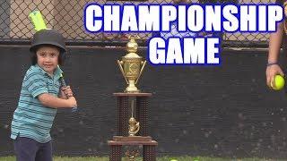 INCREDIBLE CHAMPIONSHIP GAME!   Offseason Softball Series