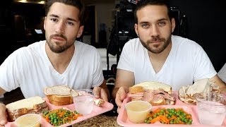 PRISON FOOD MUKBANG WITH JEFF WITTEK!! (SURPRISE ENDING)