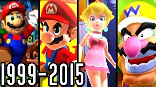 Mario Tennis & Golf ALL INTROS 1999-2015 (Wii U, 3DS, GC, N64)