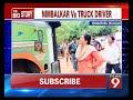 Anjali Nimbalkar slams a lorry driver - NEWS9