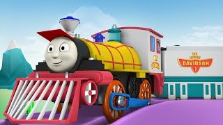Videos for kids - Thomas the Train - Toy Factory - Thomas and friends -  Trains for Kids - Cartoon