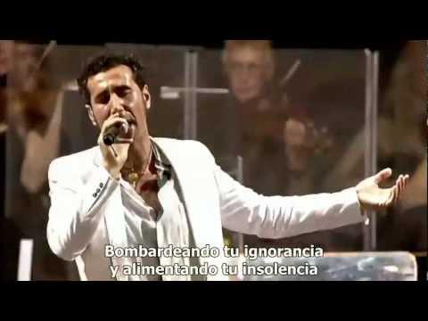 Serj Tankian :: Left Of Center Sub. Español :: Live At Lowlands Festival 2010 [HD] [HQ]