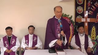 ✠ Đức Tổng Giuse Ngô Quang Kiệt | Đến thăm và Giảng Lễ An Táng | Ông Cố Giuse Nguyễn Minh Đức