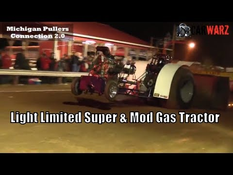 Light Limited Super & Mod Gas Tractor Class TTPA Tractor Pulls At Peck Michigan June 1 2018