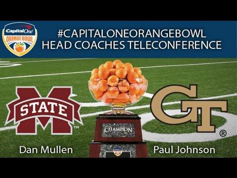 2014 Capital One Orange Bowl Head Coaches Teleconference