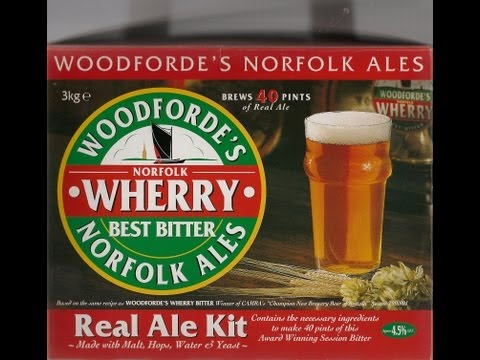 Woodfordes Micro Brewery With Barrel – Wherry