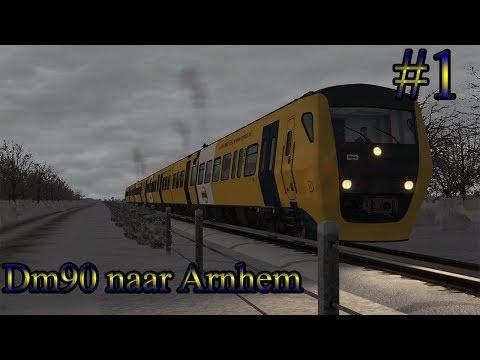DM90 Buffel naar Arnhem  Train Simulator 2017