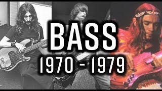 THE BASS 1970 - 1979 | The Players You Need to Know