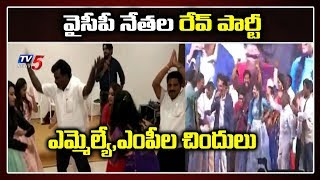 YSRCP leaders participate in rave party, video goes viral..