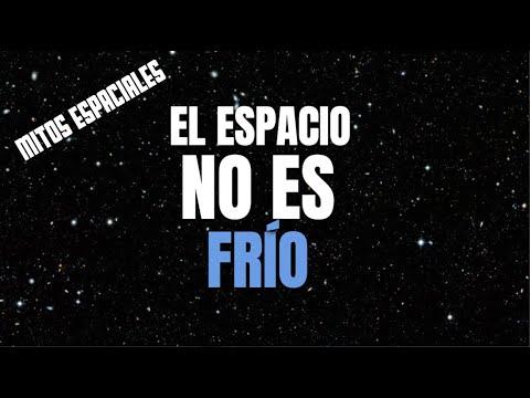¿Cuál es la temperatura del espacio?