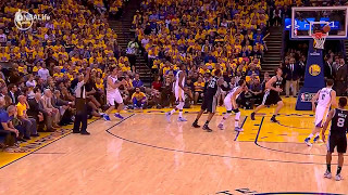 Zaza Pachulia intentionally targets & injures Kawhi Leonard ankle injury warriors dirty wcf