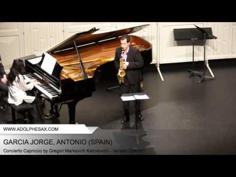 Dinant 2014 - Garcia Jorge Antonio - Concerto Capriccio by Gregori Markovich Kalinkovich