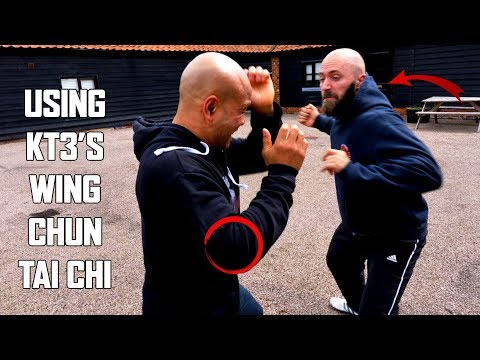 How to stop heavy hooks dead | using  kt3's wing chun tai chi self defence (New Series)